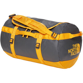 The North Face Base Camp Duffel S, asphalt grey/zinnia orange